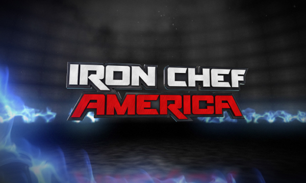 Image result for iron chef america logo